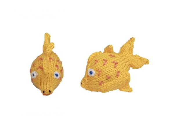 Fingerpuppe Flores der Fisch