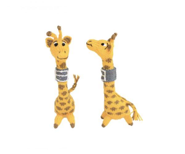 Fingerpuppe Doris die Giraffe