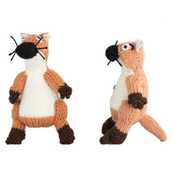 Fingerpuppe Ups der Otter